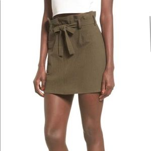 NWT army green skirt